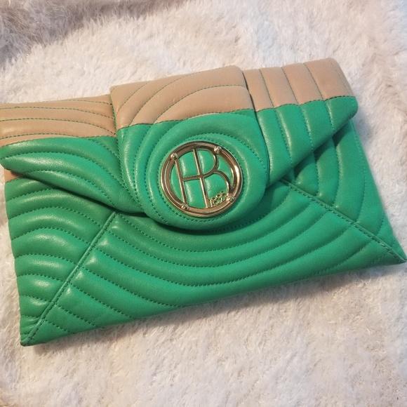 henri bendel Handbags - Henri Bendel No. 7 Quilted Envelope Clutch
